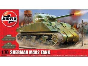 Airfix - M4 Sherman Mk.I, 1/76, Classic Kit A01303