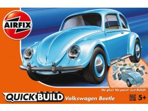 Airfix - VW Beetle, nová forma, Quick Build J6015