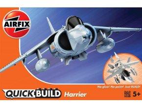 Airfix - Hawker Harrier, Quick Build letadlo J6009