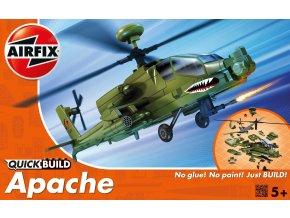 Airfix - Hughes AH-64 Apache, Quick Build vrtulník J6004