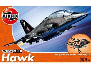 Airfix - BAE Hawk, Quick Build letadlo J6003