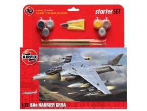 Airfix - Bae Harrier GR.9, 1/72, Starter Set A55300
