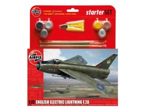 Airfix - English Electric Lightning F2A, Starter Set A55305, 1/72