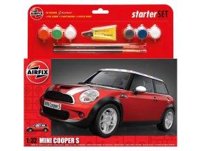 Airfix - Mini Cooper S, 1/32, Starter Set A50125