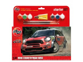 Airfix - Mini Countryman WRC, 1/32, Starter Set A55304