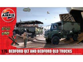 Airfix - Bedford QLD/QLT Trucks, Classic Kit A03306, 1/76