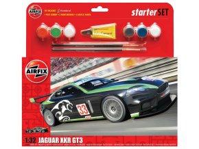 "Airfix - Jaguar XKRGT3 ""Fantasy Scheme"", 1/32, Starter Set A55306"
