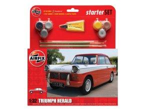 Airfix - Triumph Herald, 1/32, Starter Set A55201