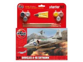 Airfix - Douglas A-4B Skyhawk, Starter Set A55203, 1/72
