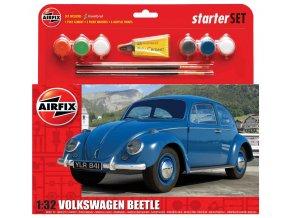 Airfix - Volkswagen Beetle, 1/32, Starter Set A55207