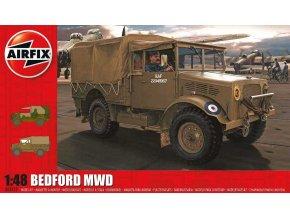 Airfix - Bedford MWD, nová forma, 1/48, Classic Kit A03313