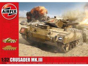 Airfix - Cruiser Crusader Mk.III, reedice, 1/32, Classic Kit A08360