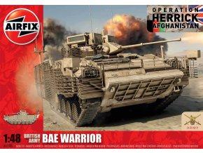 Airfix - BAe Warrior, britská armáda, 1/48, Classic Kit A07300