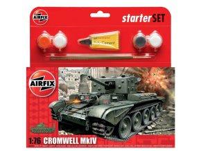 Airfix - Cromwell Cruiser Tank, 1/76, Starter Set A55109