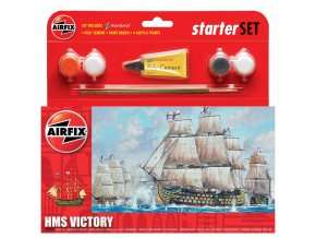 Airfix - H.M.S. Victory, 1/180, Starter Set A55104