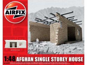 Airfix - diorama ruina domu, Afganistán, Classic Kit A75010, 1/48
