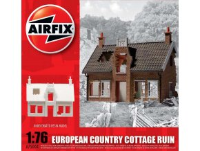 Airfix - ruina chalupy, Evropa, 1/76, Classic Kit A75004