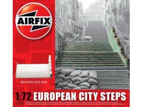 Airfix - městské schody, Evropa, Classic Kit A75017, 1/72