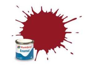 Humbrol - barva emailová 14ml - No 20 Crimson - Gloss, AA0223