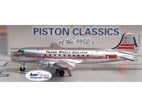 AeroClassic - Douglas DC-4, dopravce Trans World Airlines, USA, 1/400