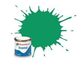 Humbrol - barva emailová 14ml - No 50 Green Mist - Metallic, AA0549
