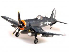 Easy Model - Vought F4U-1D Corsair, VF-84, USS Bunker Hill, 1/72