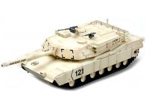 """Easy Model - M1A1 """"Abrams"""", US Army, operace pouštní bouře, Kuwait, 1991, 1/72"""