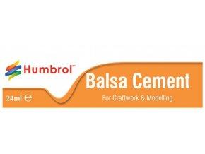 Humbrol - rychleschnoucí lepidlo na balzu 24ml, tuba, Balsa Cement, AE0603