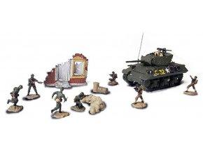 Forces of Valor - M10 Wolverine s vojáky, Francie 1944, 1/72