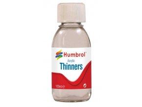 Humbrol - ředidlo 125ml láhev, Humbrol Acrylic Thinners, AC7433