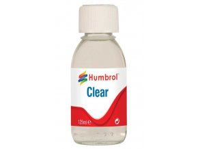 Humbrol - lak 125ml, Humbrol Clear, AC7431
