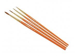 Humbrol - sada štětců (velikost 000/0/2/4), Humbrol Palpo Brush Pack, AG4250