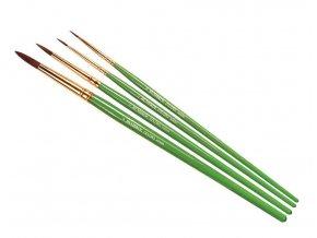 Humbrol - sada štětců (velikost 00/1/4/8), Humbrol Coloro Brush Pack, AG4050