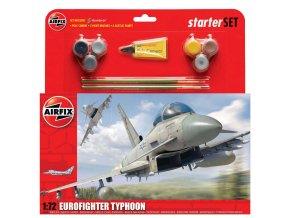Airfix - Eurofighter Typhoon, Starter Set A50098, 1/72