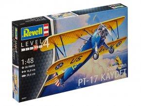 Revell - Stearman P-17 Kaydet, ModelKit 03957, 1/48