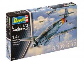Revell - Messerschmitt Bf-109 G-10, ModelKit 03958, 1/48