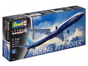 Revell - Boeing B777-300 ER, ModelKit 04945, 1/144