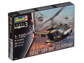 Revell - Bell UH-1H Gunship, ModelKit 04983, 1/100