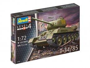Revell - T-34/85, sovětská armáda, ModelKit 03302, 1/72