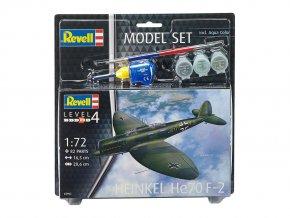 Revell - Heinkel He-70 Blitz F-2, ModelSet 63962, 1/72