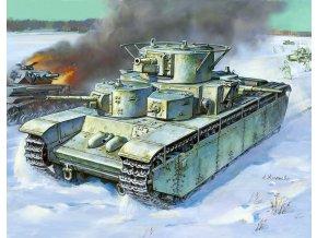 Zvezda - T-35, sovětská armáda, Model Kit 3667, 1/35