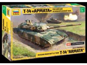 """Zvezda - T-14 """"Armata"""", ruská armáda, Model Kit 3670, 1/35"""