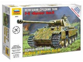 Zvezda - Pz.Kpfw.V Ausf.D Panther, Snap Kit 5010, 1/72