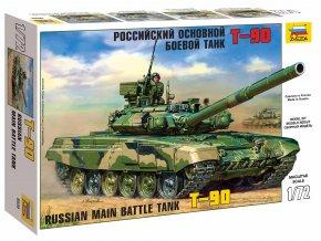 Zvezda - T-90, Model Kit 5020, 1/72