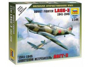 Zvezda - LaGG-3, sovětské letectvo, Wargames (WWII) 6118, 1/144
