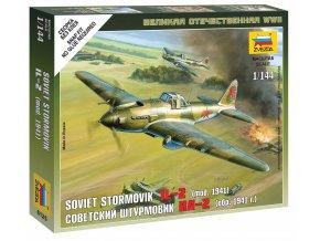Zvezda - Iljušin Il-2 Šturmovik, Wargames (WWII) 6125, 1/144