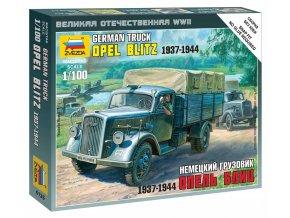 Zvezda - Kfz.305 Opel Blitz, Wehrmacht, Wargames (WWII) 6126, 1/100
