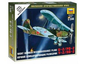 Zvezda - Polikarpov Po-2, Wargames (WWII) 6150, 1/100