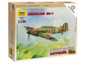 Zvezda - Hawker Hurricane Mk.I, Wargames (WWII) 6173, 1/144