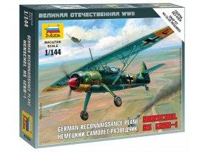 Zvezda - Henschel Hs-126 B, Wargames (WWII) 6184, 1/144